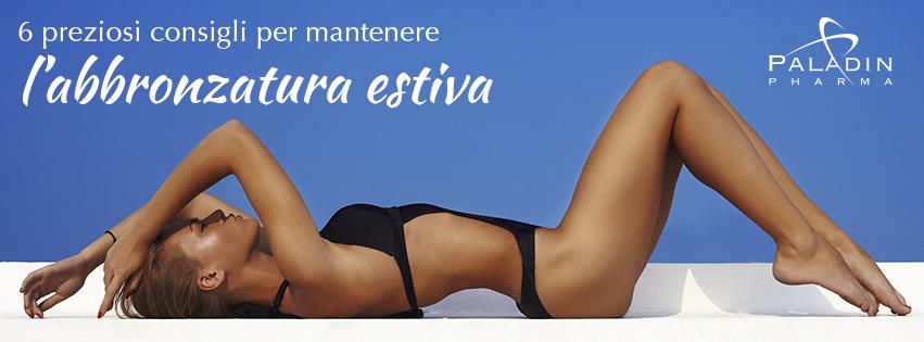 6 preziosi consigli per mantenere l'abbronzatura estiva