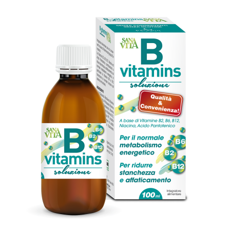 Sanavita B-vitamins Sciroppo