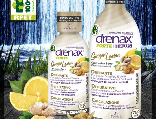 Drenax Forte Ginger Lemon Plus
