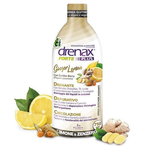 Drenax Forte Ginger Lemon Plus