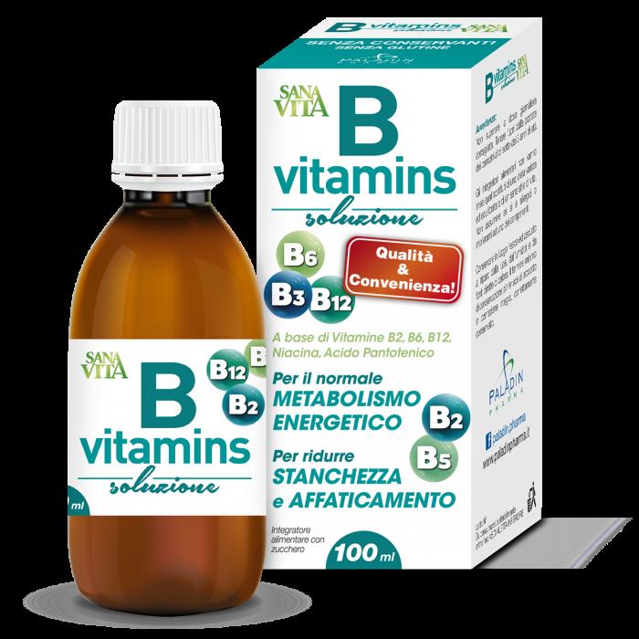 Sanavita B Vitamins Sciroppo