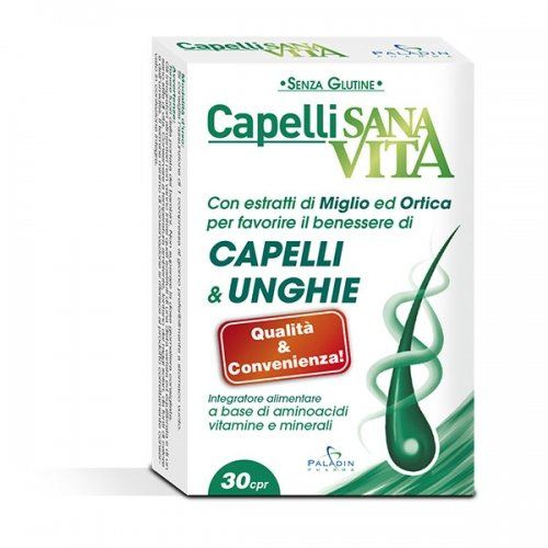 Sanavita Capelli Compresse