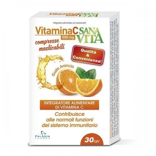 Sanavita Vitamin C Chewable Tablets