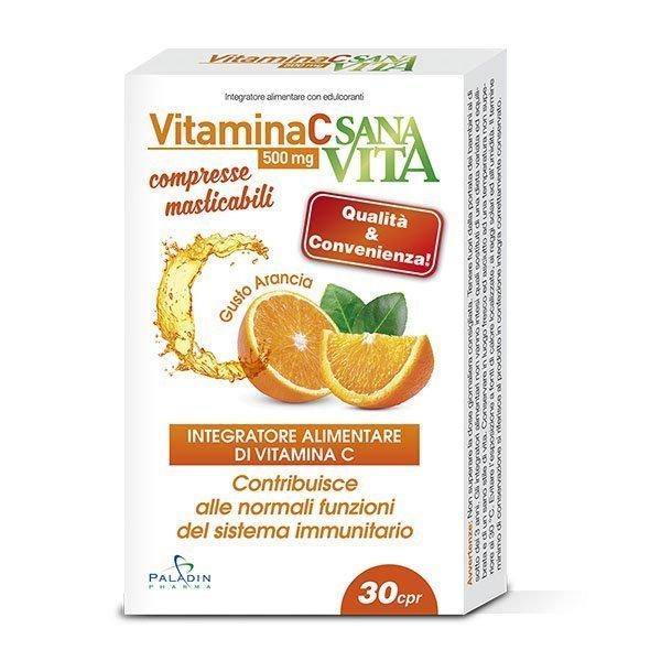 Sanavita Vitamina C Compresse Masticabili
