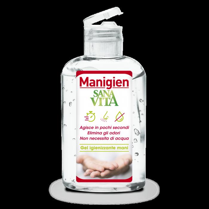 Paladin Pharma - Sanavita Manigien Gel Igienizzante Mani 100ml