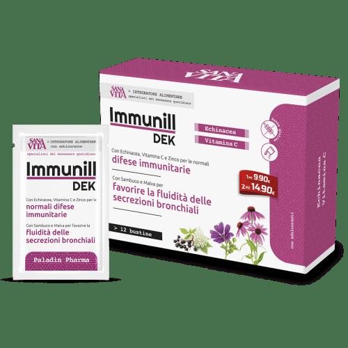 Sanavita ImmunillDek con Echinacea e Quesrcitina