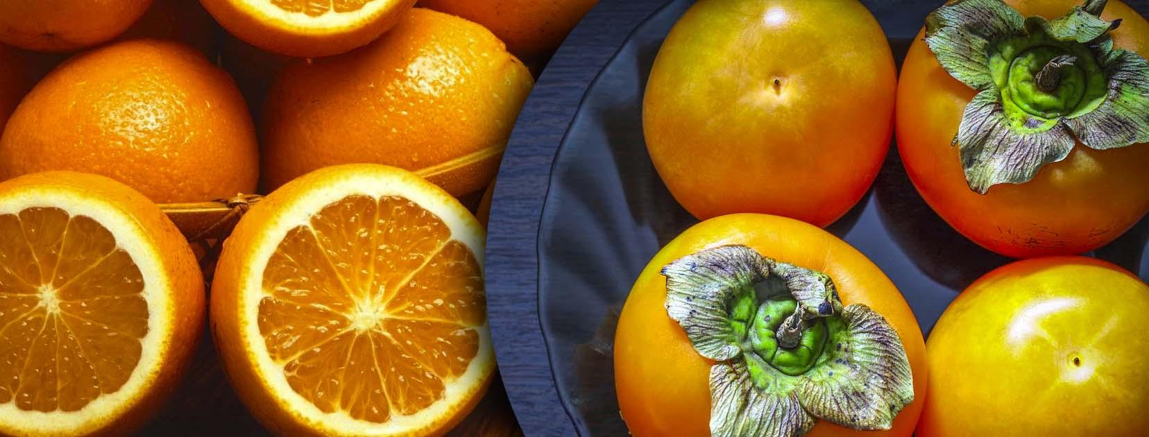 La frutta dell'inverno - Agrumi e cachi - Paladin Pharma
