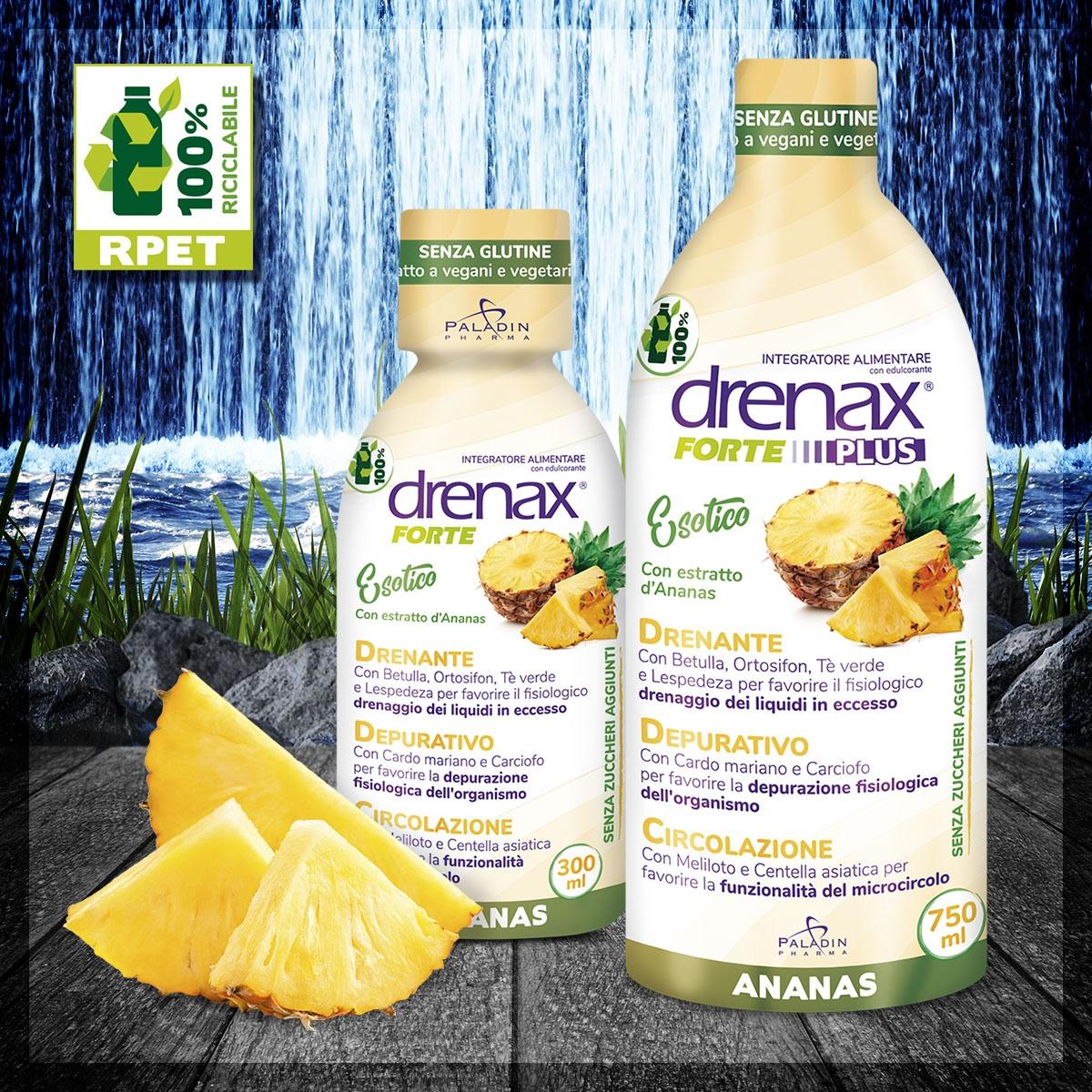 Drenax ananas ritenzione idrica e gonfiore