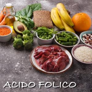 acido folico come integraro con gli alimenti