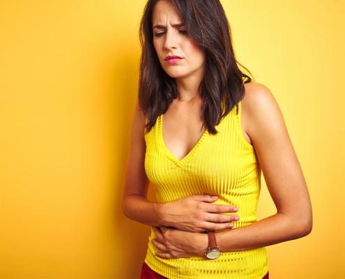 Problemi di pancia gonfia e gas intestinale